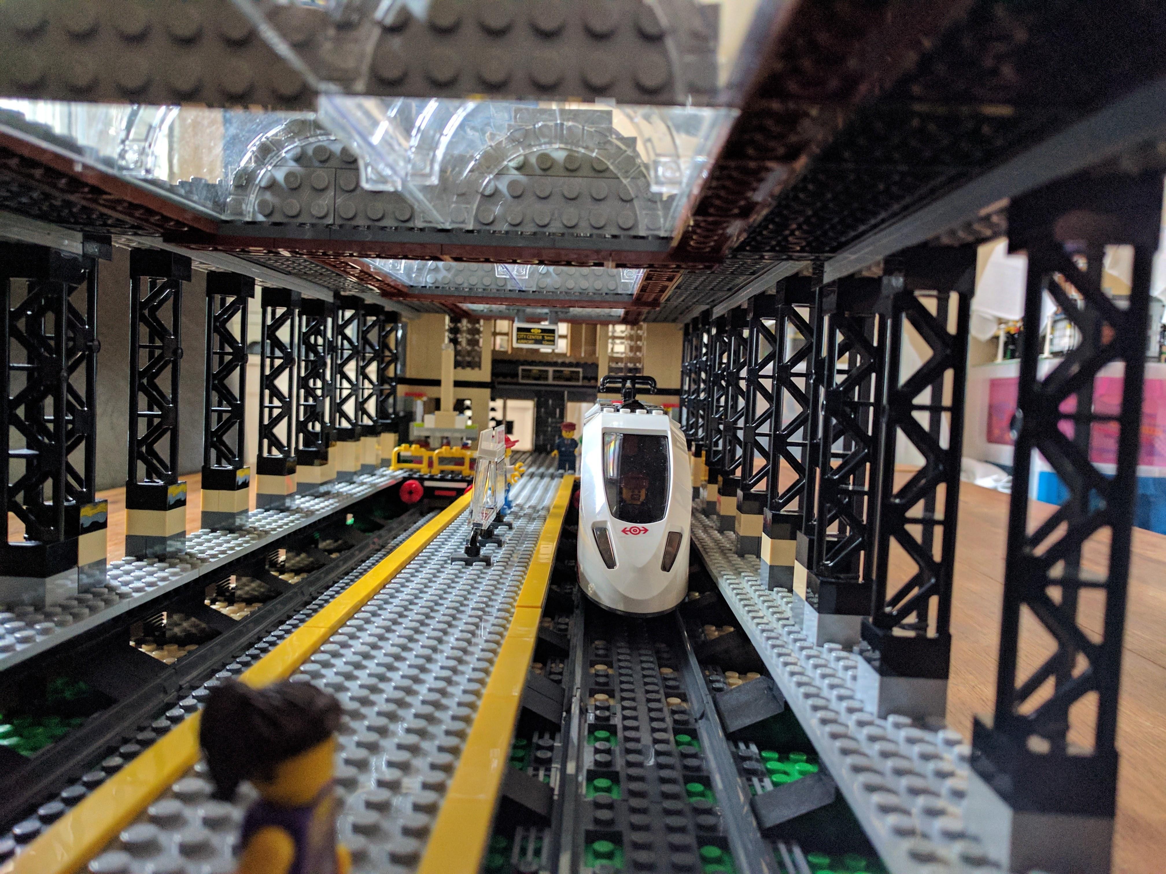 Lego Train Station Update 3 183 Miek Gieben