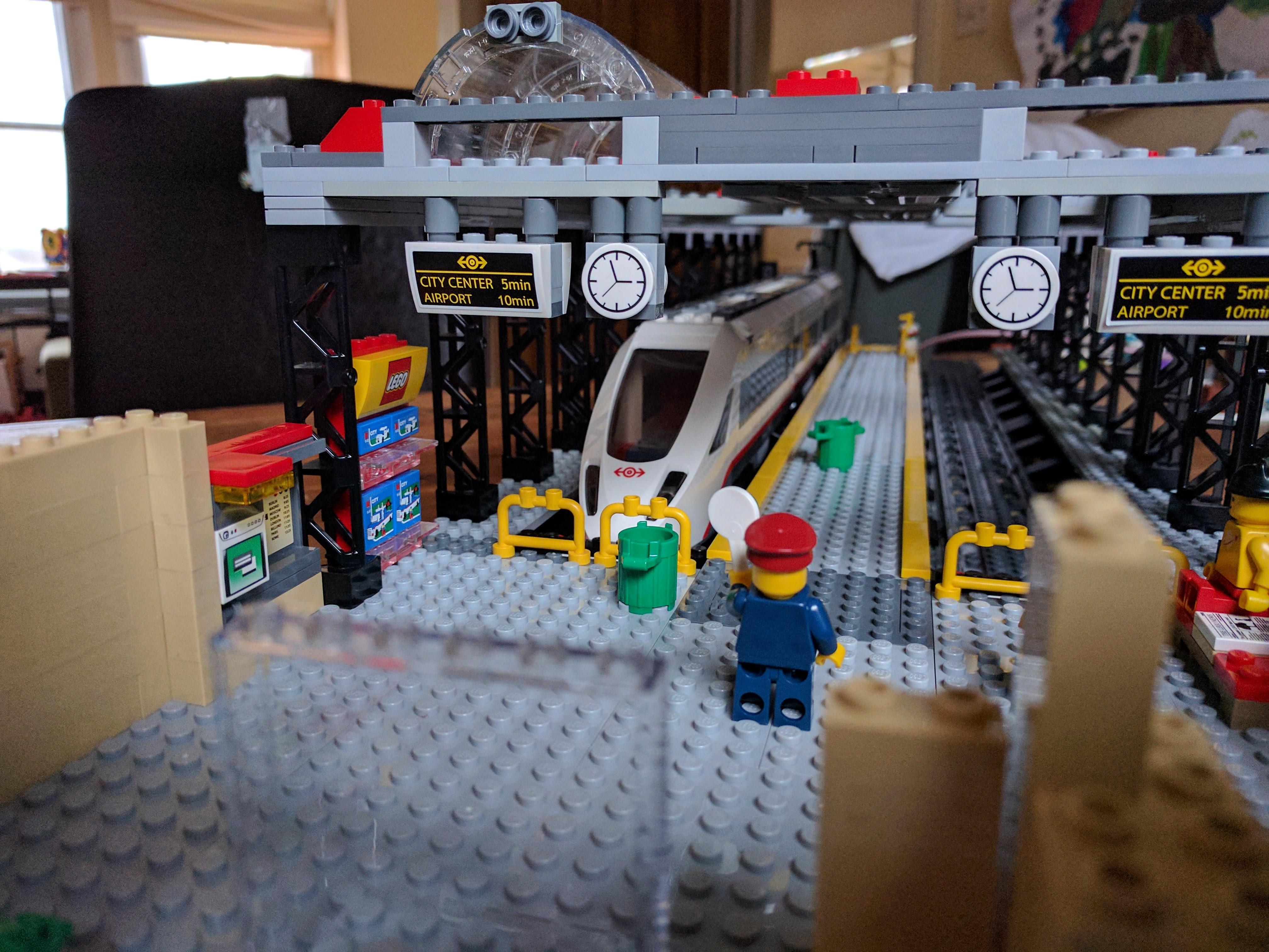 Lego Train Station Update Miek Gieben